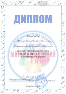 Акуленко Маттурнир